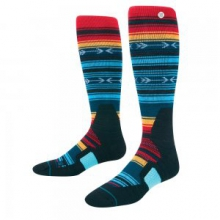 Kirk V2 Snowboard Sock Men's, Turquoise, L by Stance