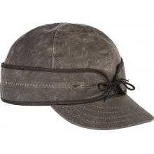 - The Waxed Cotton Cap - 778 - Dark Oak by Stormy Kromer Mercantile