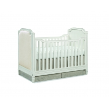Haven Cottage Crib- Upholstered by Brixy in Columbia Sc