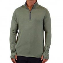 Men's Bamboo Midweight Quarter Zip by Free Fly Apparel