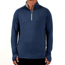 Men's Bamboo Midweight Quarter Zip by Free Fly Apparel in Greenville Sc