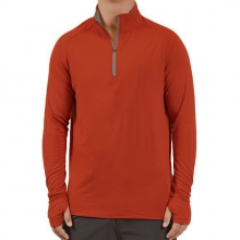 Men's Bamboo Midweight Quarter Zip by Free Fly Apparel in Ellicottville Ny