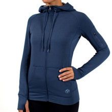Women's Bamboo Full Zip Hoody by Free Fly Apparel in Ellicottville Ny