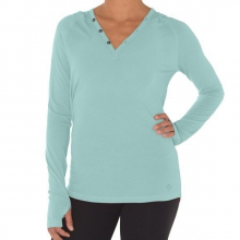 Women's Bamboo Midweight Hoody by Free Fly Apparel in Ellicottville Ny