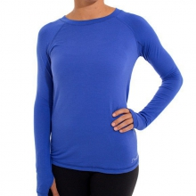 Women's Bamboo Midweight Long Sleeve by Free Fly Apparel in Boulder CO