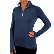 Women's Bamboo Midweight Quarter Zip by Free Fly Apparel in Ellicottville Ny