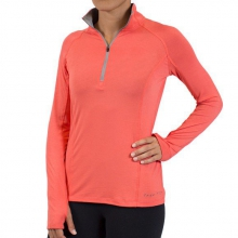 Women's Bamboo Midweight Quarter Zip by Free Fly Apparel in Boulder Co