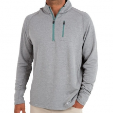 Men's Bamboo Fleece Quarter Zip by Free Fly Apparel in Ellicottville Ny