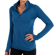 Women's Bamboo Fleece Full Zip by Free Fly Apparel in Boulder Co