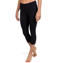 Women's Bamboo Cropped Tights by Free Fly Apparel in Shreveport La