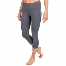 Women's Bamboo Cropped Tights by Free Fly Apparel in Sylva Nc
