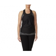Women's Deco Layered Tank Jersey by Moxie Cycling
