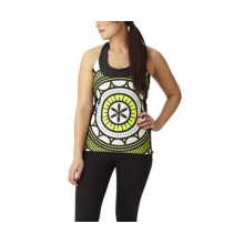 Women's High Vis T-Back Jersey by Moxie Cycling