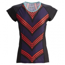 Women's Little Red Color Block Tee Jersey by Moxie Cycling