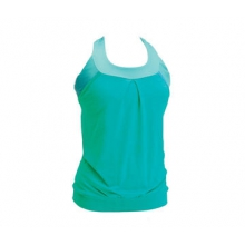 Women's Layered Tank Jersey Solid by Moxie Cycling