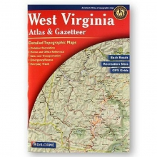 West Virginia State Atlas & Gazetteer in State College, PA