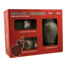 Triple 8 Saver Series 3-Pack Wrist, Elbow, and Knee Pads Adults' & Kids', S in Brooklyn, NY