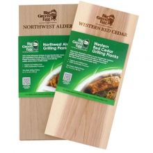 Western Red Cedar - Grilling Planks - 2 pack by Big Green Egg