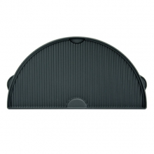 Half Moon Cast Iron Dual Side Plancha Griddle by Big Green Egg