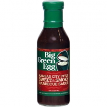 BBQ Sauce, Kansas City Style - Sweet & Smoky by Big Green Egg