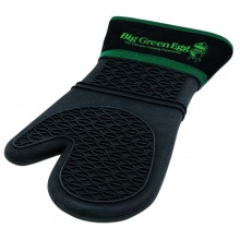 Heat-Resistant Silicone Mitt w/Fabric Cuff by Big Green Egg