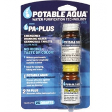Germicidal Water Purification Tablets with P.A. Plus - by Liberty Mountain