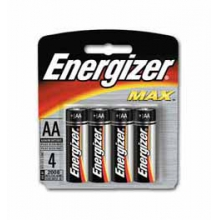 Energizer Max AA Batteries 4 pk in Solana Beach, CA