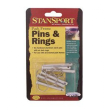 Clevis Pins & Rings (6) External Backpack Repair - Silver in State College, PA