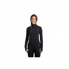 Womens Sideline 1/4-Zip - Closeout Black Medium by Tasc