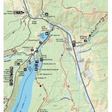 Sawtooth & White Cloud Mountains Trail Map by Adventure Maps Inc.