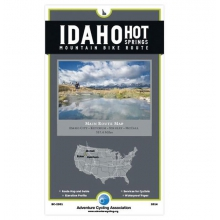 Map: Idaho Hot Springs Mountain Bike Routes by Adventure Maps Inc.
