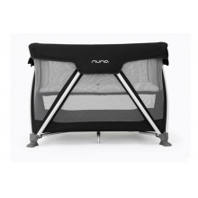 Sena Pack and Play Playard Travel Crib with Bassinet - Night Black by Nuna in North Vancouver BC