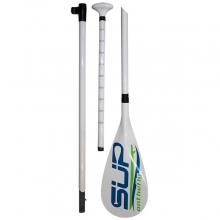 SUP OnTheFly White Fiberglass Paddle by SUPonthefly