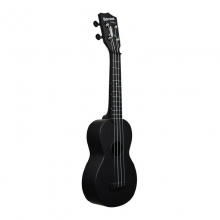 The Waterman Soprano Matte Black Ukulele in State College, PA