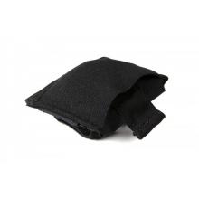 Belt Mounted Ten-Speed Dump Pouch, Small, With Adjustable Belt Loop In Black by Blue Force Gear in Jacksonville NC