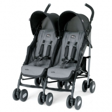Echo Twin Stroller Coal by Chicco