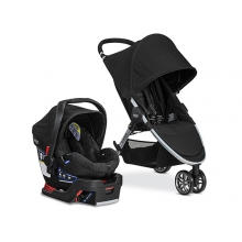 B-Agile 3/B-Safe 35 Travel System, 2016 by Britax in Alameda Ca