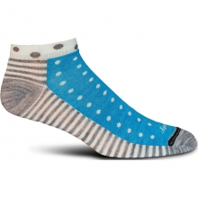 Half & Half Sock Womens - Turquoise M/L by Goodhew