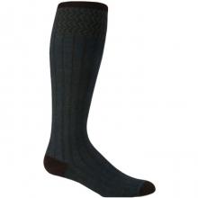 Rib Melange Sock Womens - Espresso M/L by Goodhew