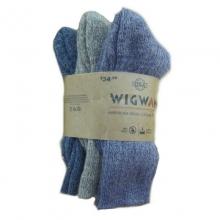 American Wool Casual Sock 3pk M REG by Wigwam