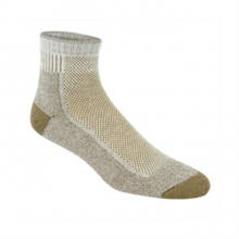 Cool-Lite Hiker Pro Quarter Socks (Khaki) in Kirkwood, MO