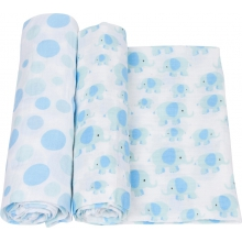 Muslin Swaddle - Elephant Swaddle 2-Pack by MiracleWare in Ashburn Va