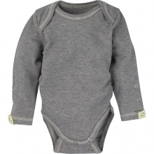Adjustable Bodysuits - Gray with Yellow Trim Adjustable Bodysuit Long-Sleeve 0-6 Month by MiracleWare in Ashburn Va