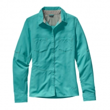 Women's L/S Sol Patrol Shirt by Patagonia in Sandy Ut