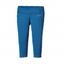 Women's Velocity Running Capris by Patagonia in Uncasville Ct