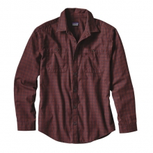 Men's L/S Pima Cotton Shirt by Patagonia in Ellicottville Ny