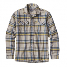 Men's L/S Fjord Flannel Shirt by Patagonia in Durango Co