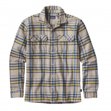 Men's L/S Fjord Flannel Shirt by Patagonia in Manhattan Ks
