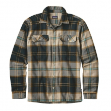 Men's L/S Fjord Flannel Shirt by Patagonia in Harrisonburg Va