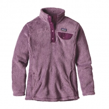 Girls' Re-Tool Snap-T Pullover by Patagonia in Stowe Vt